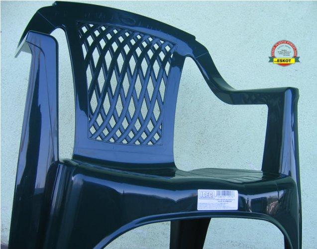 Stoły Ogrodowe Plastikowe Allegro : Włoskie krzesło ogrodowe plastikowe  różne kolory  4345081795